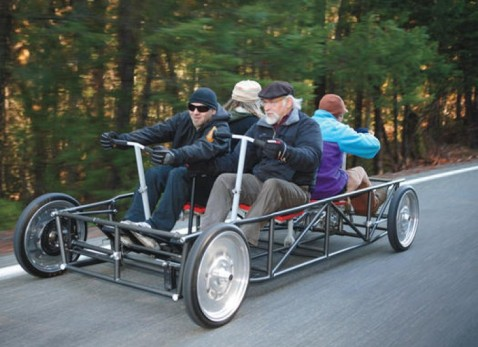 HUMAN-POWERED CAR