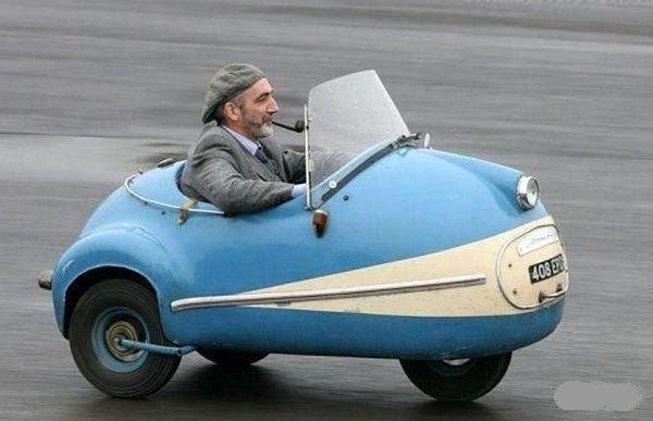 Transportation Oddities KOYOTE PRESS - Little sports cars